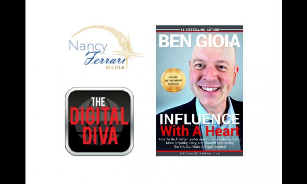 Learn powerful business tools: enjoy my Interview With Nancy Ferrari About Influence With A Heart
