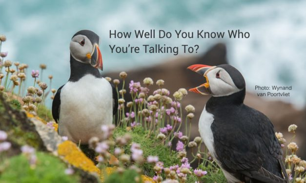 How Well Do You Know Who You're Talking To?