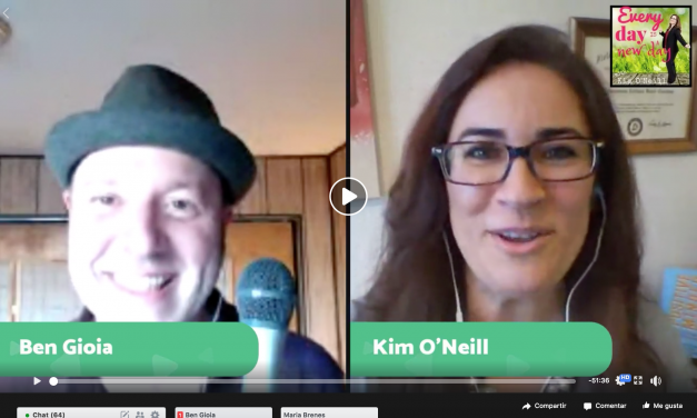 Kim O'Neill Interviews Ben Gioia About Mindfulness and More