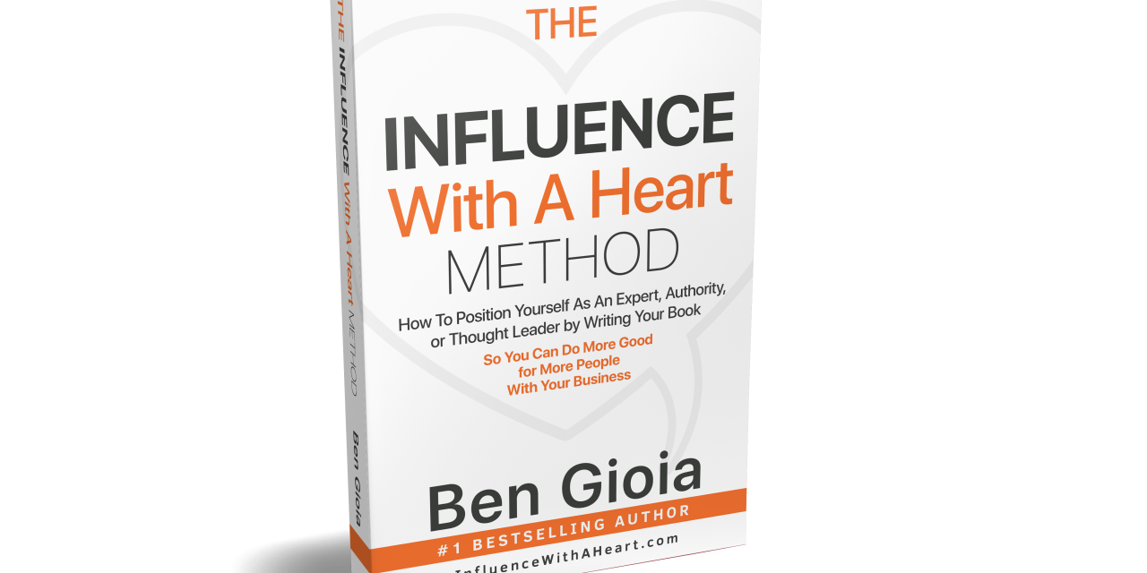 Book Launch: THE INFLUENCE WITH A HEART METHOD